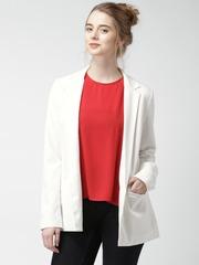 FOREVER 21 Contemporary Cream-Coloured Jacket