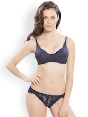 Lady Love Navy Lace Lingerie Set LLSET4043