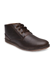 Prolific Men Coffee Brown Casual Shoes