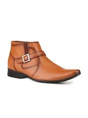 Mactree Men Tan Brown Semiformal Shoes