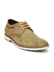 Roadster Men Tan Brown Casual Shoes