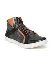 Provogue Men Charcoal Grey Casual Shoes