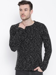 United Colors of Benetton Black & White Sweater