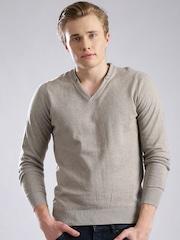 GAS Beige Sweater
