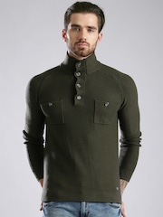 GAS Olive Green Sweater