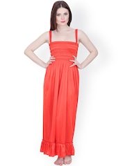 Secret Wish Red Maxi Nightdress NT-170