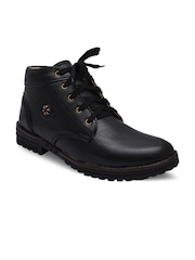 Sir Corbett Men Black Boots