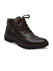 Sir Corbett Men Brown Boots
