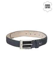 Harvard Men Navy Genuine Leather Belt
