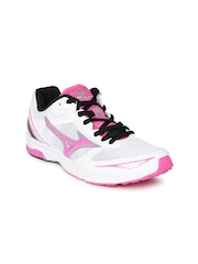 Mizuno Women White Wave Emperor TR Running Shoes