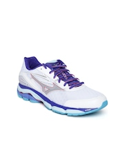Mizuno Women White Wave Inspire 12 Running Shoes