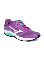 Mizuno Women Purple Wave Impetus 3 Running Shoes
