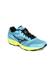 Mizuno Women Turquoise Blue Wave Impetus 3 Running Shoes