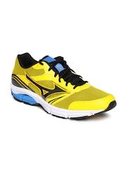 Mizuno Men Yellow Wave Impetus 3 Running Shoes