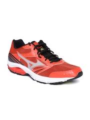 Mizuno Men Orange Wave Impetus 3 Running Shoes