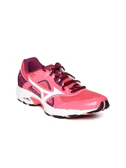Mizuno Women Coral Pink Empower 3 Running Shoes