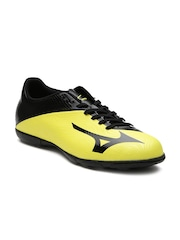 Mizuno Men Yellow Basara 103 AS Leather Football Shoes