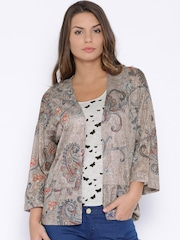 ONLY Taupe Printed Shrug