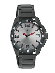Fastrack Men Grey Dial Watch 3084NM01