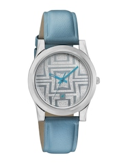 Fastrack Women Grey Dial Watch 6046SL04