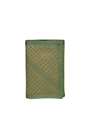 DC Men Green & Brown Printed Wallet