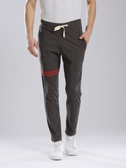 Hubberholme Charcoal Grey Track Pants