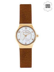 SKAGEN Denmark Women Pearly White Dial Watch SKW2210I