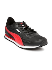PUMA Men Black Epoch DP Running Shoes