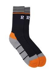 Real Madrid Men Navy Above Ankle-Length Sports Socks