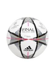 Adidas Men White Printed FINMILANO CAP Football
