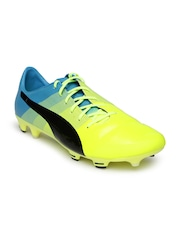 PUMA Men Yellow evoPOWER 1.3 Football Shoes