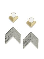 Mast & Harbour Set of 2 Stud Earrings