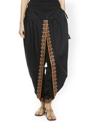 9rasa Black Dhoti Pants