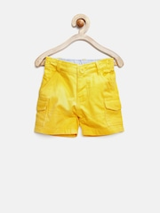 Baby League Boys Yellow Chino Shorts