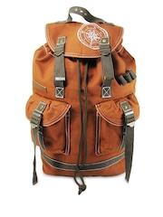 The House of Tara Rust Orange Backpack