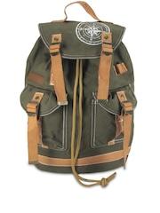 The House of Tara Olive Green Backpack