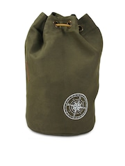 The House of Tara Olive Green Backpack