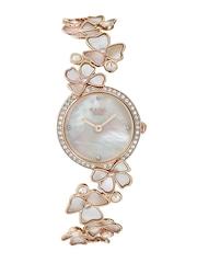 Titan Raga Moonlight Women Pearly White Dial Embellished Watch 95030WM01J