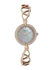 Titan Raga Moonlight Women Pearly White Dial Embellished Watch 95022WM01J