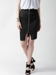FOREVER 21 Black Zipper Pencil Skirt