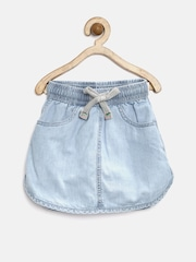Gini & Jony Girls Blue Denim Skirt