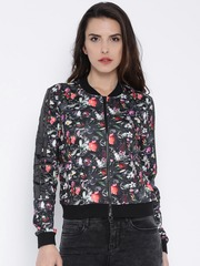ONLY Black Floral Print Jacket