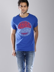 Tommy Hilfiger Blue Printed T-shirt