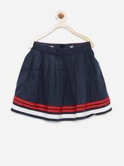 Tommy Hilfiger Girls Navy Skirt