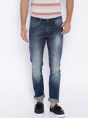 Locomotive Blue Super Slim Fit Jeans
