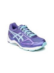 ASICS Women Purple Gel Foundation 12 (D) Running Shoes