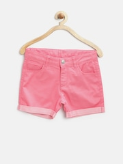 United Colors of Benetton Girls Pink Shorts