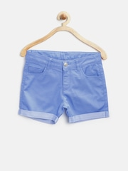 United Colors of Benetton Girls Blue Shorts