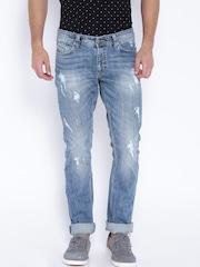 SPYKAR Light Blue Skinny Fit Jeans