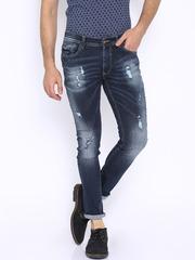 SPYKAR Dark Blue Super Skinny Fit Jeans